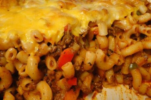 hired help macaroni casserole
