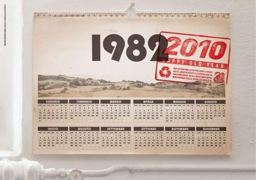 reused calendar